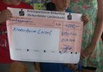 Scheckübergabe 4.000 Euro